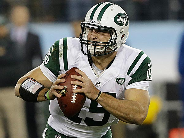 The New York Jets have released quarterback Tim Tebow. (Wade Payne/AP file photo)
