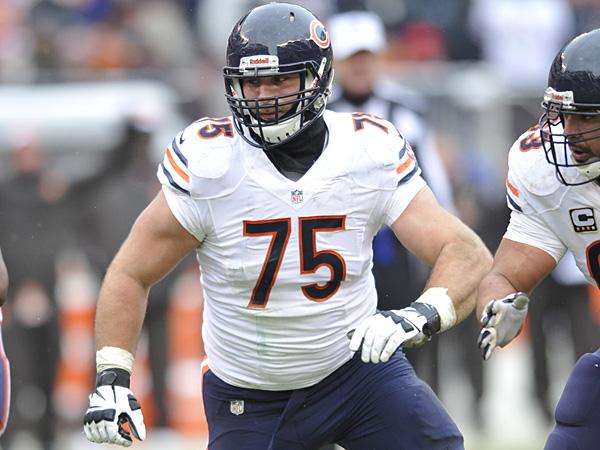 Bears guard Kyle Long. (David Richard/AP)