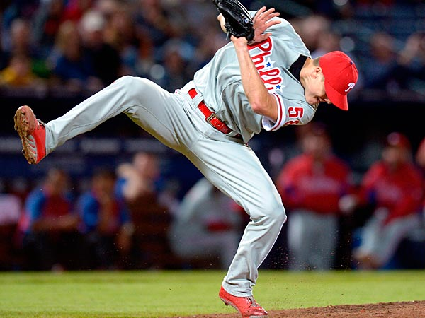 Look out, Jonathan Papelbon! Here come pitcher helmets. (David Tulis/AP file photo)