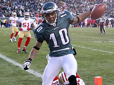 DeSean Jackson was one of six Eagles selected to the 2009 Pro Bowl.  (Yong Kim/Staff Photographer)