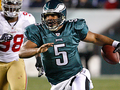 Donovan McNabb could be a member of the St. Louis Rams by next season according to a league source. ( Ron Cortes / Staff file photo )