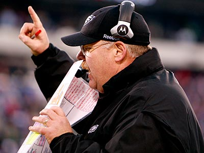 Andy Reid and the Eagles will be the No. 3 seed in the NFC playoffs. (David Maialetti/Staff File Photo)