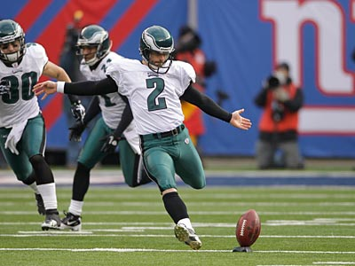 The Eagles have kicked touchbacks on 24.72 percent of their kickoffs this season. (Seth Wenig/AP)