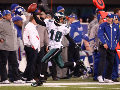 DeSean Jackson capped off an Eagles victory over the Giants with a punt return for a touchdown. (Ron Cortes / Staff file photo)