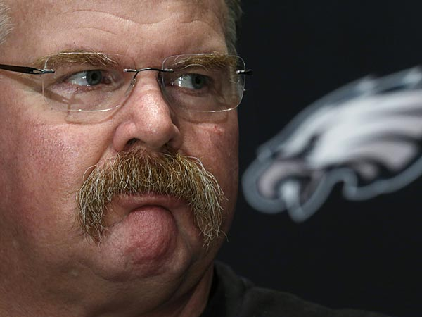 Eagles coach Andy Reid. (Matt Rourke/AP)