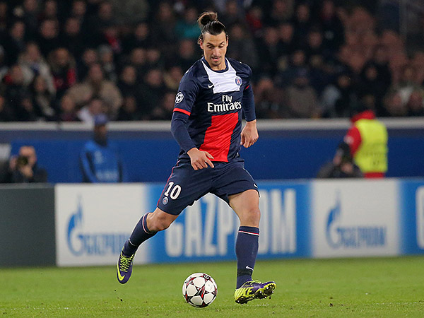 Zlatan Ibrahimović. (Michel Euler/AP file photo)