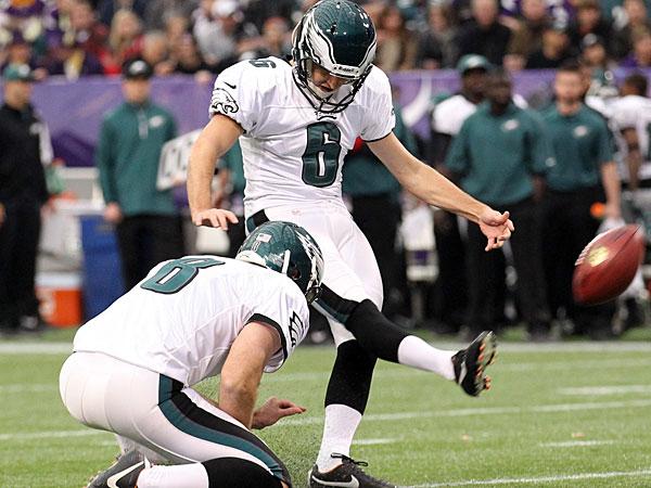 Eagles kicker Alex Henery. (Yong Kim/Staff Photographer)