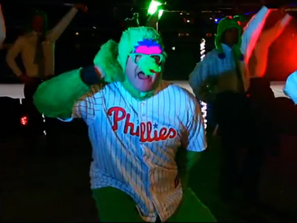 On Friday, December 21, the Phillies released a new video parody of YouTube sensation, Ylvis. (screenshot via YouTube)