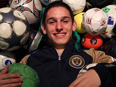 Zach Pfeffer was signed under the MLS homegrown player initiative. (Joseph Kaczmarek / For the Daily News)
