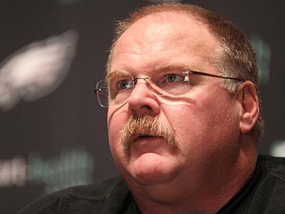 Andy Reid says that all of the Eagles regular starters will play against Washington on Sunday. (Charles Fox/Staff Photographer)