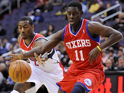 Jrue Holiday will be one of many young pieces to the Sixers lineup. (Nick Wass/AP)