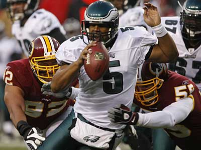 """Certain things are just an inch away,"" Donovan McNabb said. (David Maialetti/Staff Photographer)"