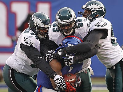 The Eagles allowed 89.1 rushing yards per game in their last 10 games. (Ron Cortes/Staff Photographer)