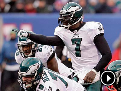 Michael Vick has thrown 20 touchdown passes and ran for 8 touchdowns this season. (Yong Kim/Staff Photographer)
