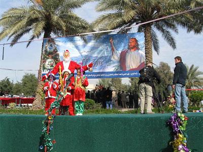 Baghdad Santa, Christmas 2008