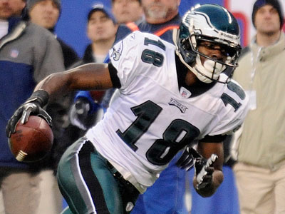 Jeremy Maclin leads the Eagles with 10 TD catches, the most by an Eagles receiver since Terrell Owens caught 14 in 2004. (Clem Murray/Staff Photographer)