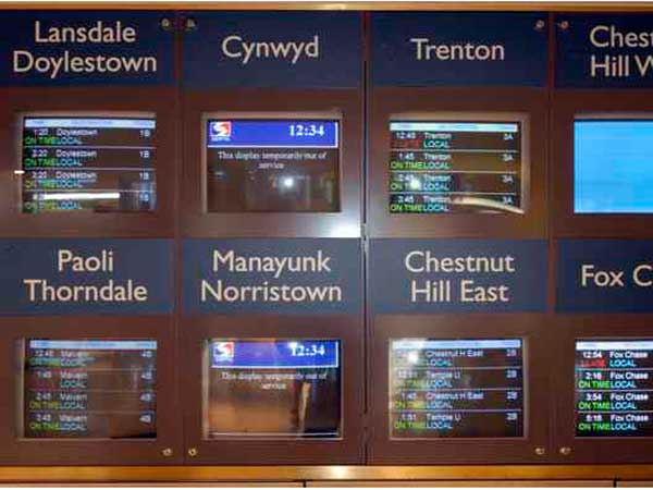 SEPTA schedules at Suburban Station (File photo)
