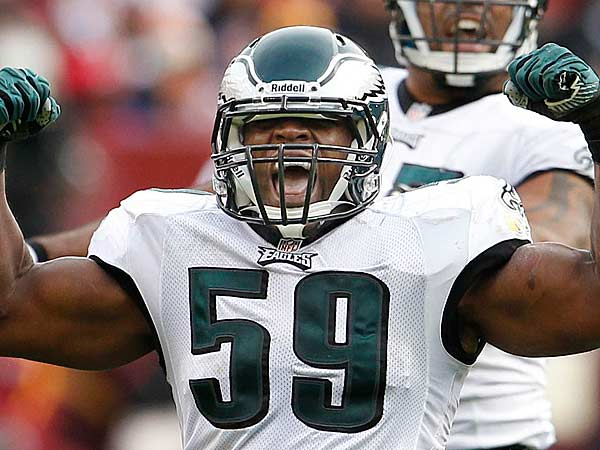 Eagles linebacker DeMeco Ryans. (Ron Cortes/Staff file photo)