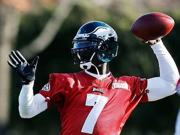 Vick's gift is one last start in green