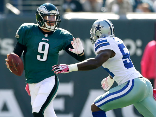 Nick Foles: First Cowboys game was 'a bad day'