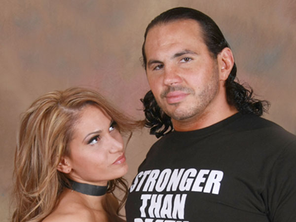 Matt Hardy and his wife Reby Sky. (Photo courtesy of Extreme Rising)