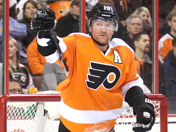 Scott Hartnell. (Yong Kim/Staff Photographer)