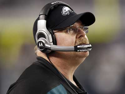 Andy Reid will return to coach the Eagles for a 14th season. (Brandon Wade/AP)