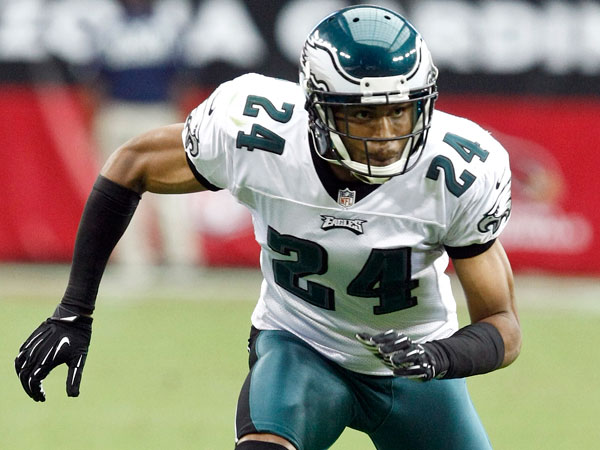 Former Eagles cornerback Nnamdi Asomugha. (Paul Connors/AP file)