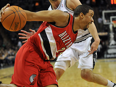 """""""We definitely had a chemistry when I was over there,"""" Andre Miller said of his time with the 76ers. (Bahram Mark Sobhani/AP)"""
