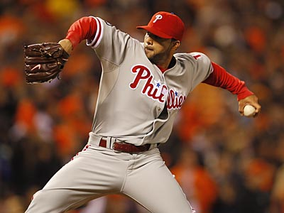 J.C. Romero signed a one-year contract with the Phillies Thursday. (Yong Kim/Staff File Photo)