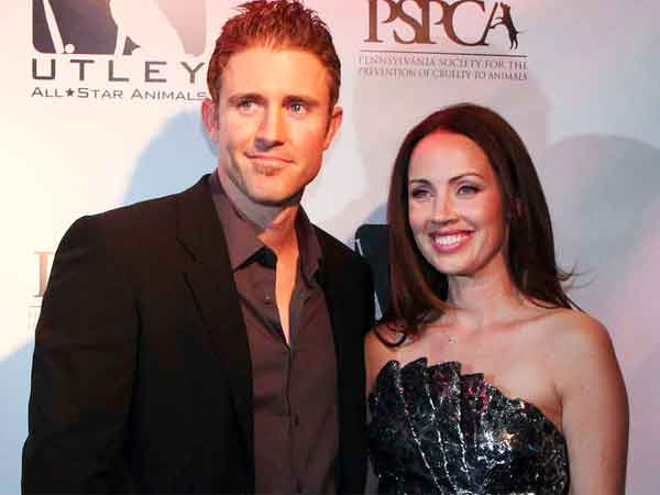 Chase and Jen Utley at their annual Casino Night event. (Steven M Falk / Staff Photographer)