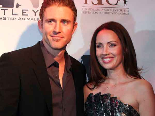 Chase and Jen Utley at their annual Casino Night event benefiting the PSPCA. (Steven M Falk / Staff Photographer)