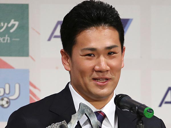Masahiro Tanaka is about to be the overexposed story of the winter. (AP Photo/Koji Sasahara)