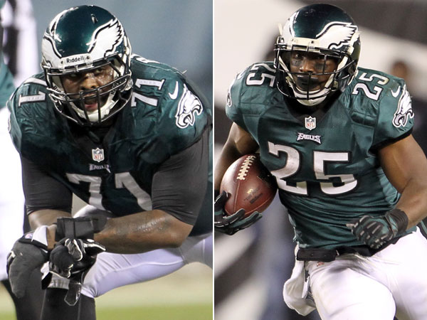Eagles offensive lineman Jason Peters and running back LeSean McCoy have been selected to the 2014 Pro Bowl. (Yong Kim/Staff Photographer)