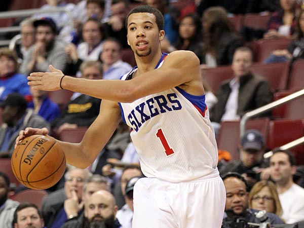 The Sixers´ Michael Carter-Williams (Yong Kim/Staff Photographer)