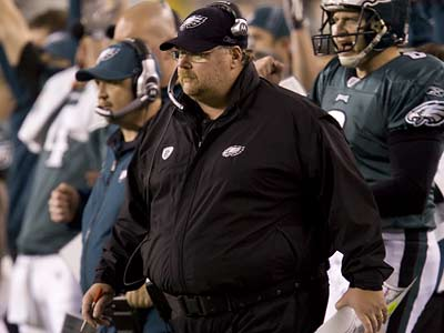 """In a lot of cities, it's game to game. In Philadelphia, it's play to play,"" Andy Reid said. ""You have to love that."" (Ed Hille/Staff Photographer)"