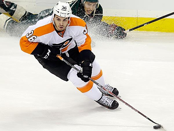 The Flyers´ Zac Rinaldo. (Jim Mone/AP)