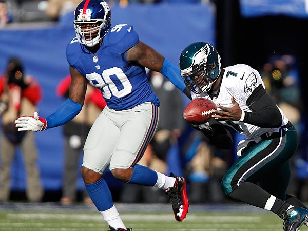 Eagles-Giants report card