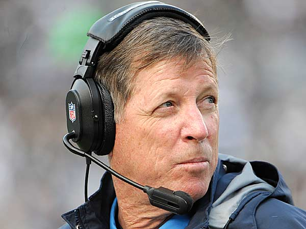 San Diego Chargers coach Norv Turner watches as the Chargers play the Oakland Raiders during the first half of an NFL football game Sunday, Dec. 30, 2012, in San Diego. (Denis Poroy/AP)