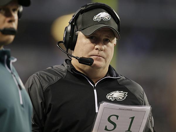 Eagles head coach Chip Kelly. (Tony Gutierrez/AP)
