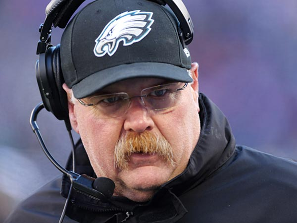 Former Eagles head coach Andy Reid. (Peter Morgan/AP file photo)