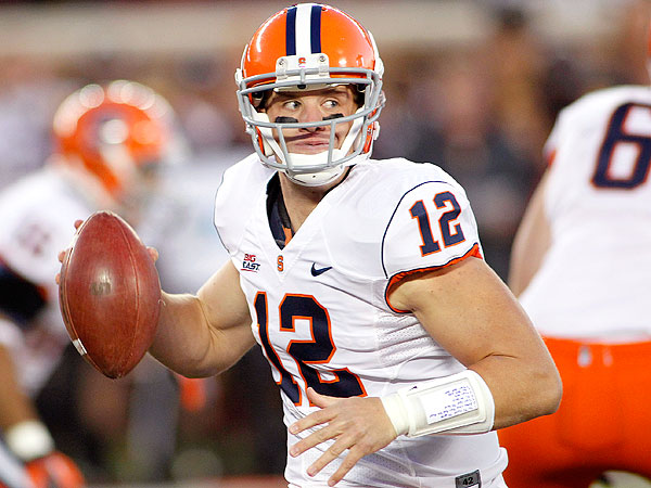 Syracuse quarterback Ryan Nassib. (Andy King/AP)