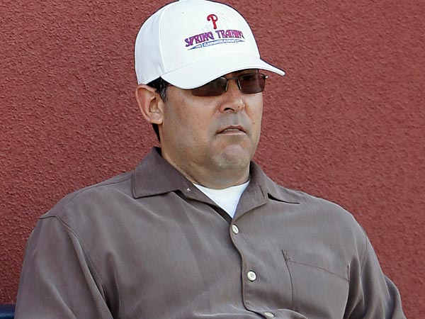 Phillies general manager Ruben Amaro Jr. (File photo)