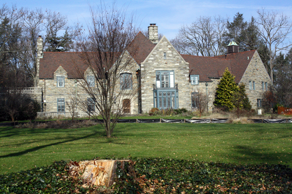 The mansion at 117 Raynham Rd. in Merion changed hands last February, according to Montgomery County records.