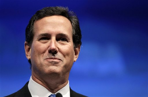 Former U.S. Sen. Rick Santorum (AP file photo)