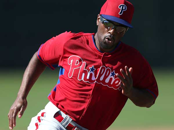 Phillies shortstop Jimmy Rollins. (David Maialetti/Staff Photographer)