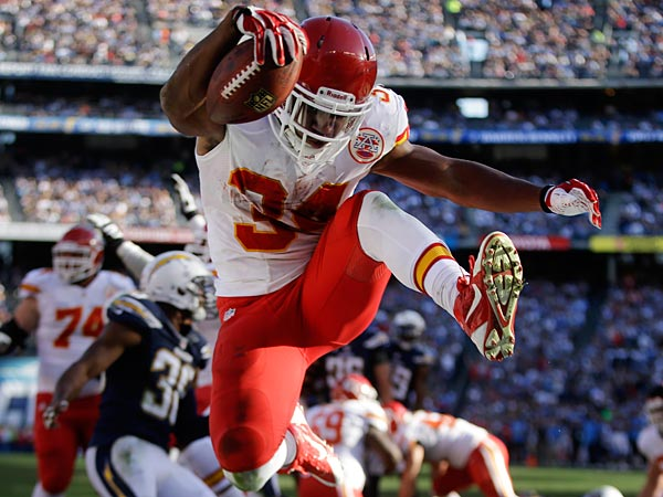 The Chiefs take on the Colts first this afternoon. (AP Photo/Lenny Ignelzi)