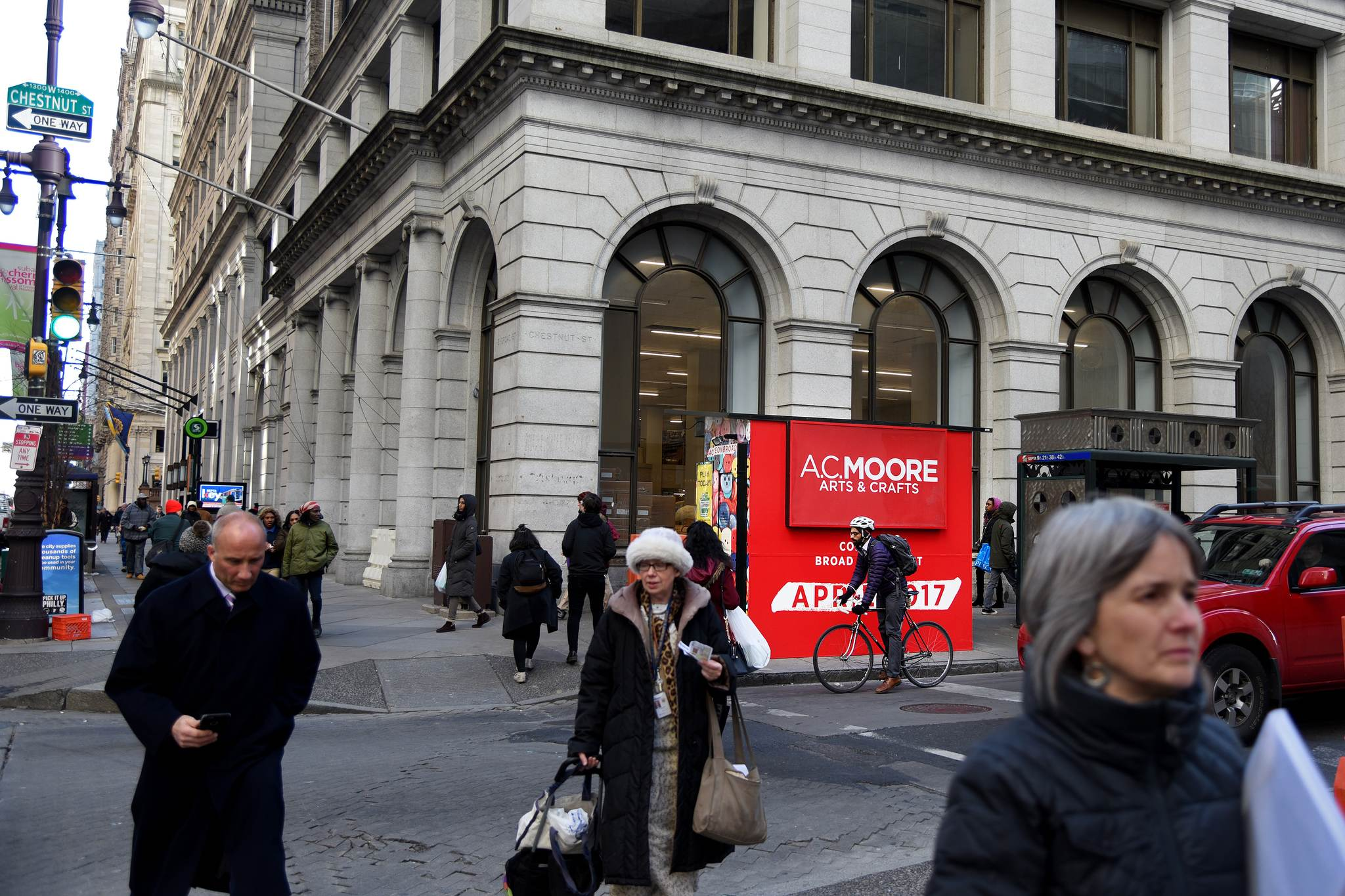 Arts and crafts firm a c moore to open first center city for Ac moore and crafts