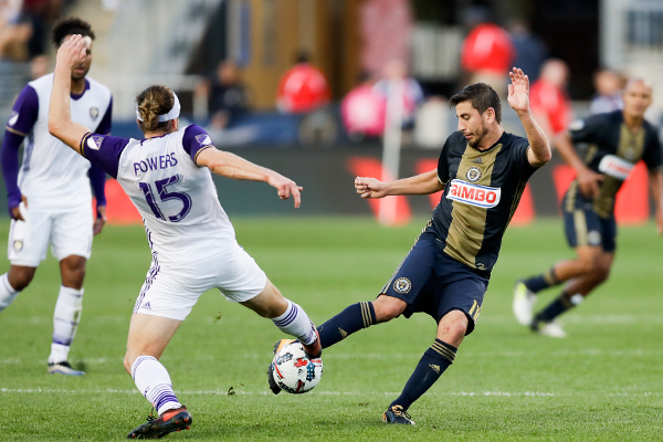 The Union take on Orlando City SC on Sunday, October 22, 2017 in Chester, Pa.  YONG KIM / Staff Photographer
