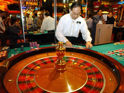 Table games, such as the roulette wheel shown here at Resorts Atlantic City casino, have been legalized in Pennsylvania. (AP Photo/Mary Godleski)